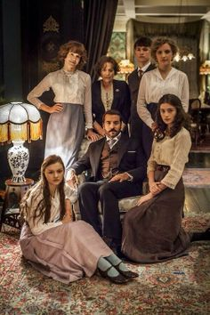 Costume inspiration for Sing for Victory choral concert | Mr Selfridge