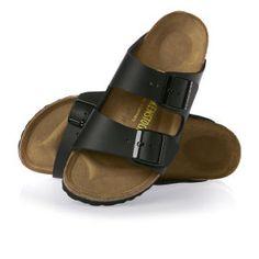 Birkenstock Sandals - Birkenstock Arizona Sandals - Black