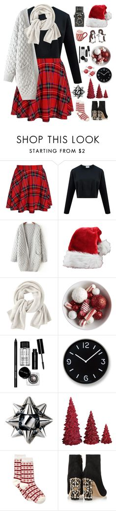 """""""18 days till Christmas!"""" by genesis129 ❤ liked on Polyvore featuring Wrap, Bobbi Brown Cosmetics, Lemnos, Artecnica, Dot & Bo, Charter Club, Dolce&Gabbana, Christmas, countdown and Polvore"""