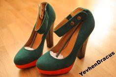 Туфли на Толстом Каблуке Размер 38 39 — Купить Недорого у Проверенных  Продавцов на Bigl.ua 9b95e2f05c4