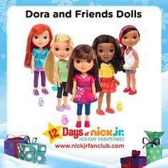 Holiday Gift Guide: Dora and Friends dolls make a great gift for the preschooler in your life!