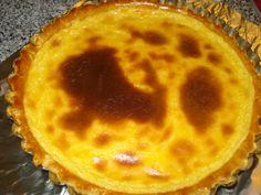 Tarte Pastel de Nata na Bimby - Receitas Bimby