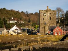 15th Century Ballyhack Castle and Harbour, Co Wexford, Ireland
