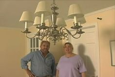 Learn how to install a chandelier; includes details on removing the old fixture and supporting and installing the new chandelier.
