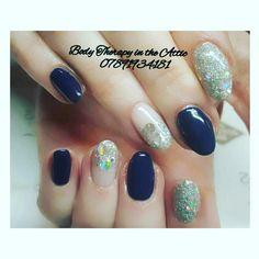 Navy Diamond Gel Manicure   #sparkle  #gelmanicure  #gelnails #evo  #biosculpuregel #magpiepigment  #lvlenhance #lashes  #classy&fabulous  #glitter  #nailtech #magpieglitter #hazel  #massagetherapist  #holistictherapist #aromatherapist  #beautifulnails #nailart #nailsofinstagram #nailsagram #secretofhealthynails #nailsecret #nailart #nailledit #nails #longlasting #21dayswear #naildesign  @instagram