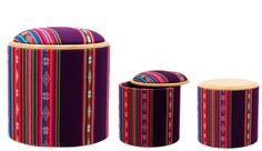 Pomada fabrica objetos de decoración a partir de la reutilización y reciclado de materiales descartables.