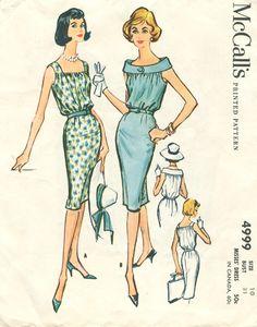 McCall's 4999, ca 1959; Sz 12/Bust 32