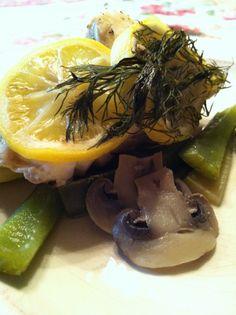 Fish En Papillote!  Gluten Free, Dairy Free, Maker's Diet  glutenfreehappytummy