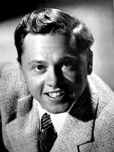 Mickey Rooney, an award-winning actor and Hollywood legend who appeared in many films back then.