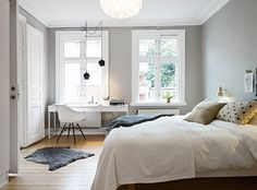 my scandinavian home: White and grey Gothenburg home tour. We love this apartment at www.birdaria.com and think its fab! #birdaria