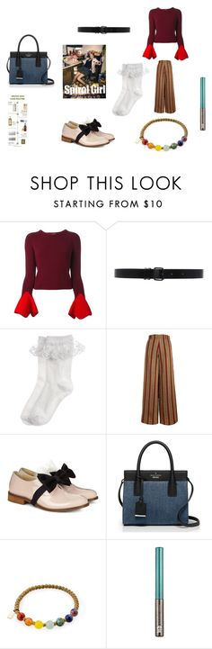 """""""What a piece of s**t you are"""" by nadaanja ❤ liked on Polyvore featuring Alexander McQueen, Ann Demeulemeester, Monsoon, The Bee's Sneeze, Pokemaoke, Kate Spade and Urban Decay"""