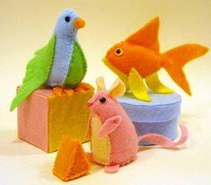 DIY: Super Cute Felt Cat Toys « Pet Project