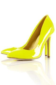 salon mujer Topshop amarillo