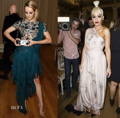 Marchesa Spring 2015 Front Row - Red Carpet Fashion Awards