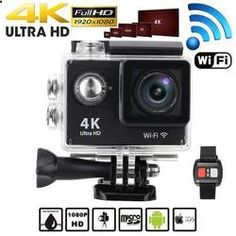 4k Action Sports Camera with Remote Control