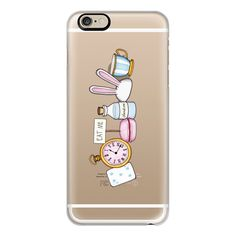 iPhone 6 Plus/6/5/5s/5c Case - ALICE IN WONDERLAND ($40) ❤ liked on Polyvore featuring accessories, tech accessories, iphone case, iphone cover case, slim iphone case and apple iphone cases