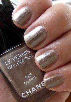 Chanel - Quartz. i want to own at least one chanel nail polish before i die please!