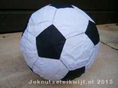 Sportknutsel voetbal