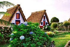 Santana tipical houses, Madeira Islands (photo: Joana Santos) #Portugal