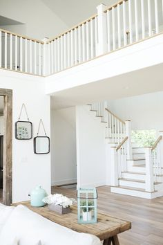 """Sherwin Williams Extra White. White Interior Paint Color: """"Our whole house is pretty much this color - """"Sherwin Williams Extra White"""". #SherwinWilliamsExtraWhite #SherwinWilliams #ExtraWhite Beautiful Homes of Instagram @nc_homedesign via Home Bunch"""