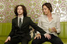 Mike Einziger and Brandon Boyd