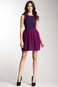 Pink Tartan Contrast Tiffany Dress on HauteLook