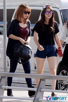 Jeon Ji Yoon & Kwon So Hyun (4Minute)  Fashion Airport