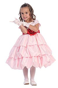 Flower Girl Dress Style BL204- Choice of Color- BUILD YOUR OWN DRESS!
