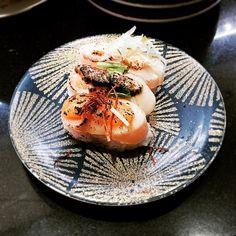 Three different styles Scallop Sushi by  Katsu Sushi #tokyo #tsukiji #katsusushi #sushi #vsco #food #yummy #ilovetokyo #igers #beautiful #travelasia #worldtravel #iloveasia #ilovetravel #beautifuldestinations  #iphonephoto #igphoto #Igtravel #instaphoto #instatravel #travel #Traveler #traveling #travelgram #travelling #iphonephotography #travelphoto #traveltheworld #igphoto #igtravel #iphonephoto #instaphoto #instatravel Nov2015 by teronowl
