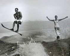 """""""I love summertime more than anything else in the world. That is the only thing that gets me through the winter, knowing that summer is going to be there."""" - Jack McBrayer  Ready for the weekend?  #manoftheworld #waterskii #waterskiing #summerandfun #fun #watersport #sports #lake #waves #vintagepictures #lifeinpictures #summertime #menshealth #mens #water #inspiration #manandwoman #sunandfun"""