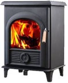 Hi Flame Shetland small Small Gas Fireplace, Outdoor Fireplace Designs, Home Fireplace, Faux Fireplace, Fireplace Remodel, Best Wood Burning Stove, Mini Wood Stove, Traditional Fireplace, Pallet Bar