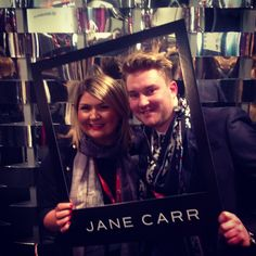 To promote the launch of @janecarr_official on Instagram we posted pics of #lfwend shoppers in their favorite JANE CARR scarf! Stop by and join the fun this weekend! #london #fashion #scarfstyle #somersethouse #lfw #shopping