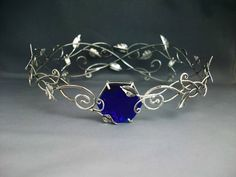 New Arrival Wedding Tiaras Cute Jewelry, Hair Jewelry, Jewelry Box, Jewelry Accessories, Jewelry Design, Greek Jewelry, Circlet, Blue Sapphire Rings, Fantasy Jewelry