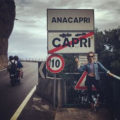 No more Capri!  #bellisariogetsbooted #TroianBellisario