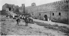 Rabat (الرباط)  Kasba des Oudaïas  Devant les remparts de la kasba des Oudaïas  1916.04.20