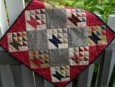 Doll Quilt Pattern - Little Baskets