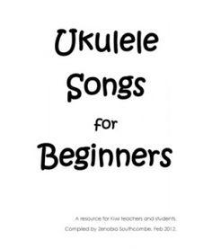 Ukulele Songs for Beginners Feb 2012