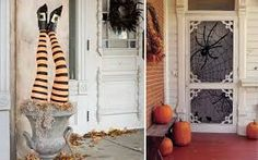 Resultado de imagen de escaparate para halloween