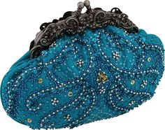 Carlo Fellini - Valencia Evening Bag, (beaded bag, evening bag, evening purse, purse, beaded purse, bridal, clutch, cocktail bag, handbags, mothers day), via https://myamzn.heroku.com/go/B0025ZOCNY/Carlo-Fellini-Valencia-Evening-Bag