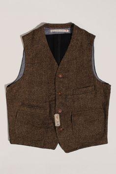 Scarti-Lab Waistcoat 403-SE932 Magee Wool