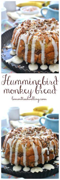 Hummingbird Monkey Bread | Lemon Tree Dwelling