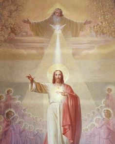 + O Most Holy Trinity! As many times as I breathe, as many times as my heart beats, so many thousand times do I want to glorify Your. Jesus Christ Quotes, Jesus Christ Images, Jesus Art, Religious Pictures, Jesus Pictures, Blessed Mother Mary, Blessed Virgin Mary, Catholic Art, Religious Art