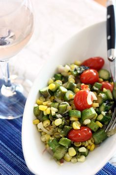 roasted summer succotash recipe