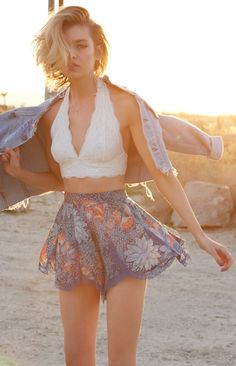 urbanoutfitters: Ideal Summer outfit. (Photography by Magdalena Wosinska)