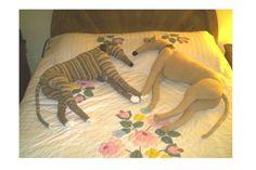 Life size Greyhound pdf Crochet Pattern
