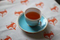 Keď líšky dávajú dobré ráno: DIY obrus pre krajší deň!