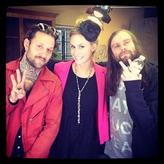 Keltie and The Used! See more here: http://insdr.co/ILG5Zi
