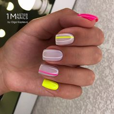 Wow Nails, Pretty Nails, Classy Nails, Fancy Nails, Gelish Nails, Nail Manicure, Nagellack Design, Short Square Nails, Square Acrylic Nails