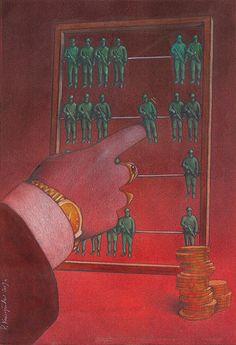 Sociedades de controle:Deleuze aborda o comportamento dos indivíduos em cada sociedade específica.Na disciplinar o trabalho era voltado para o sistema fábrica,onde a base era produção,salários baixos e pessoas constituindo um só corpo.Esses indivíduos se comportavam como toupeiras de forma ondulatória,funcionando em órbita.