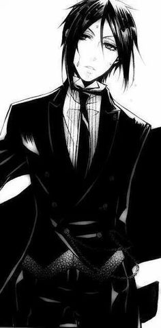 Black butler I honestly don't think my heart can take too much more of Sebastian. It's about to implode as of now *-*